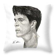 Laettner Throw Pillow by Tamir Barkan