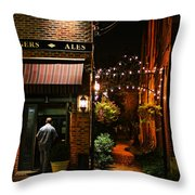 Lagers And Ales Throw Pillow by Laura Fasulo
