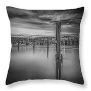 Lake Oyeren II Throw Pillow by Erik Brede