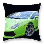 Lambourghini Salamone Throw Pillow by Allen Beatty