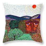 Landscape Throw Pillow by Sarah Loft