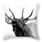 Last Cry Throw Pillow by Kayleigh Semeniuk