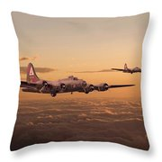Last Home Throw Pillow by Pat Speirs