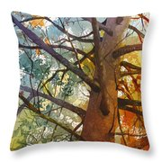 Last Stand Throw Pillow by Kris Parins