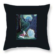 Late Again  Throw Pillow by Fran Brooks