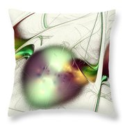 Latent Images Throw Pillow by Anastasiya Malakhova