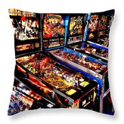 Launchers Lacking Throw Pillow by Benjamin Yeager