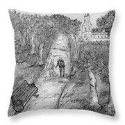 L'autunno Della Vita Throw Pillow by Loredana Messina
