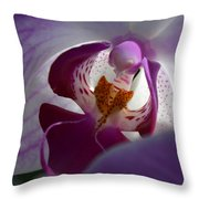Lavendar world Throw Pillow by AnnaJo Vahle