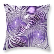 Lavender Elegance Throw Pillow by Anastasiya Malakhova