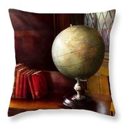 Lawyer - A World Traveler Throw Pillow by Mike Savad