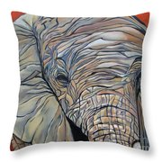 Lazy Boy Throw Pillow by Aimee Vance