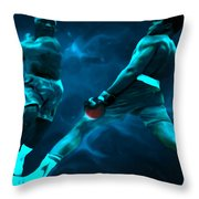 Lean Back Throw Pillow by Brian Reaves