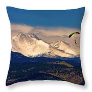 Leap Of Faith Throw Pillow by James BO  Insogna