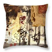 Learning Throw Pillow by Carol Leigh