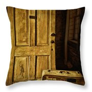 Leaving Home Throw Pillow by Priscilla Burgers