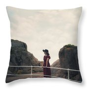 Left Alone Throw Pillow by Joana Kruse