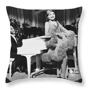 Lena Horne In Stormy Weather Throw Pillow by Underwood Archives