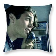 Leo Johnsone .. Are You Telling Me There's No Santa Claus Throw Pillow by Twin Peaks