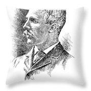Leonard Wood (1860-1927) Throw Pillow by Granger