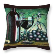 L'eroica Still Life Throw Pillow by Mark Howard Jones