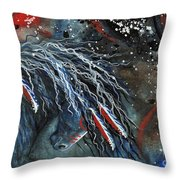 Let Freedom Run Majestic Series #71 Throw Pillow by AmyLyn Bihrle