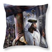 Liberation Beyond Comprehension1 Throw Pillow by Reggie Duffie