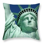 Liberty Throw Pillow by Brian Jannsen