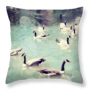 Life Is But A Dream Throw Pillow by Amy Tyler