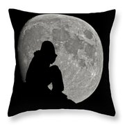 Life Is Good Throw Pillow by Ernie Echols