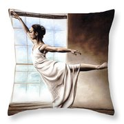 Light Elegance Throw Pillow by Richard Young