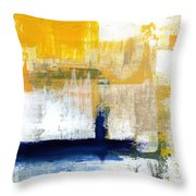 Light Of Day 4 Throw Pillow by Linda Woods