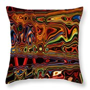 Light painting 1 Throw Pillow by Delphimages Photo Creations