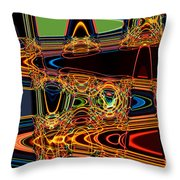 Light Painting 3 Throw Pillow by Delphimages Photo Creations