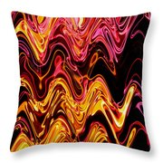 Light Painting 5 Throw Pillow by Delphimages Photo Creations