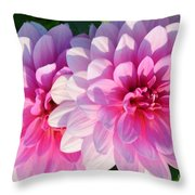 Light Shine Throw Pillow by Kathleen Struckle