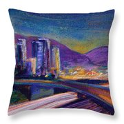 Light Up The Night Throw Pillow by Athena Mantle