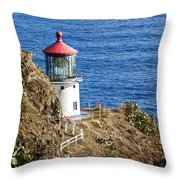 Lighthouse Throw Pillow by Juli Scalzi