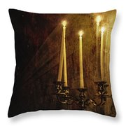 Lighting The Way Throw Pillow by Margie Hurwich