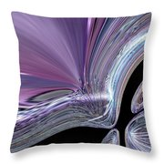 Like A Drop In The Splash Throw Pillow by Jeff Swan