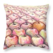 Like Apples And Oranges Throw Pillow by Shana Rowe Jackson