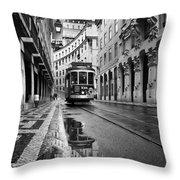 Lisbon Throw Pillow by Jorge Maia