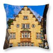 Lisle Street Throw Pillow by Christi Kraft