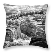 Little Roundtop Overlooking Devils Den Throw Pillow by Paul W Faust -  Impressions of Light