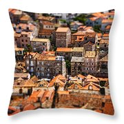 Little Village Throw Pillow by Andrew Paranavitana