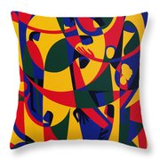 Live Adventurously Throw Pillow by Ron Waddams
