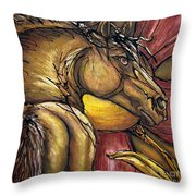 Live Again Throw Pillow by Jonelle T McCoy
