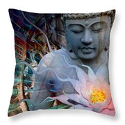 Living Radiance Throw Pillow by Christopher Beikmann