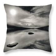Loch Etive Throw Pillow by Dave Bowman