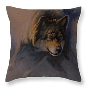 Locked on Target Throw Pillow by Mia DeLode